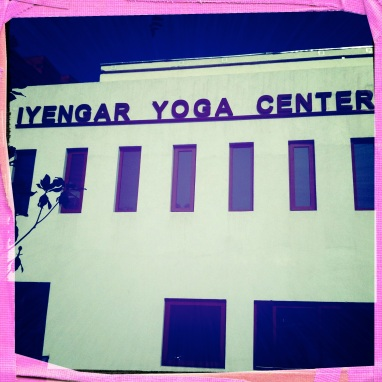The Yoga Studio I Found.... Practice, practice and all is coming.....