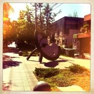 Santiago Sidewalk Art Sculpture