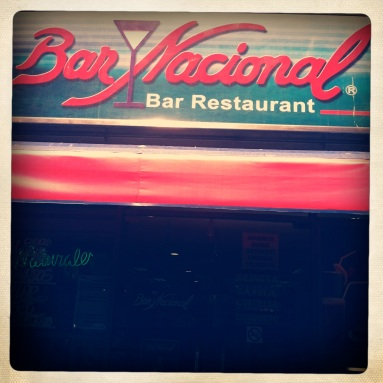 Santiago Institution, Bar Nacional (National Bar) where you find all Chilean food ALL the time. Established circa 1930's.