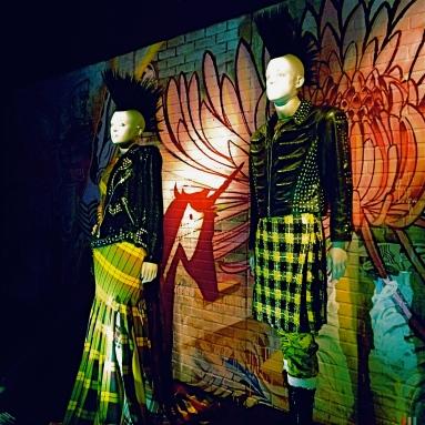 Punk/Vivienne Westwood influences.