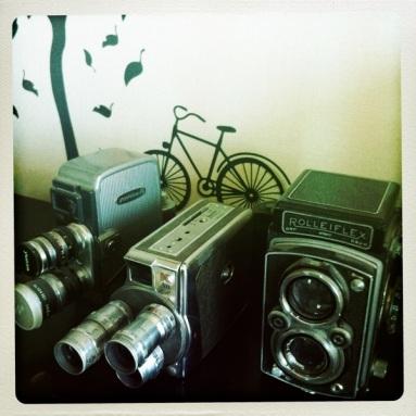 Funky cameras.