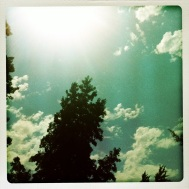 Summer Sun still going strong at 6pm.... 80+ degrees....