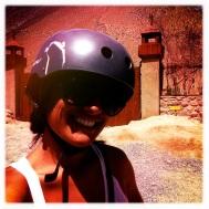 Be safe, wear a helmet when riding your bike ;)
