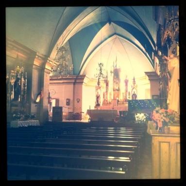 Inside church shot.