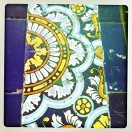 More decorative tile...
