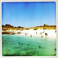 Beach Shot of Isla Damas. Tropical magic paradise!