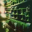 Vintage Milk Glass in Mint Green