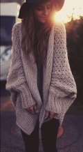 Soft, Cozy Sweater & Hat