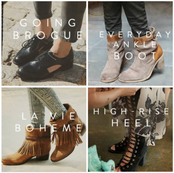 Free People Fall Shoes