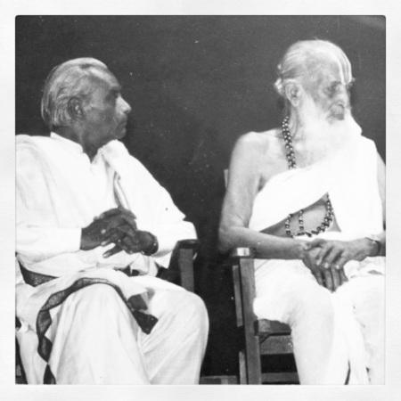 BKS Iyengar & Krishnamacharya