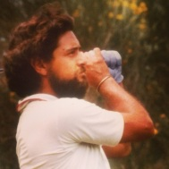 My Pops, the Hippy Golf Player
