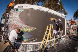 Mural Art, Work in Process
