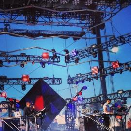 Disclosure Performing Live