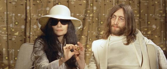 Yoko's Fabulous Hat & John's Snazzy Suit