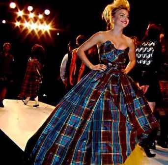 Tartan Ball Gown