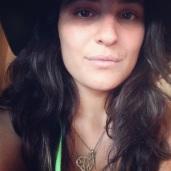 Selfie! Rockin the Neon Green Glow in the Dark Hair Extensions