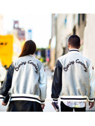Opening Ceremony His & Hers Letterman Jackets