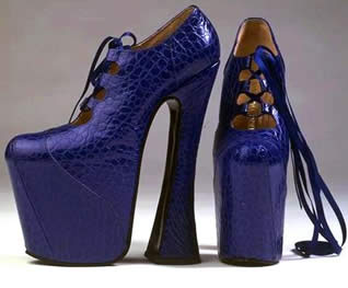 Famous Platformed Shoes by Westwood